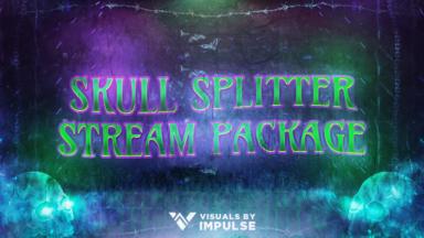 Skull Splitter Stream Package - Visuals by Impulse