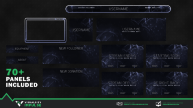 Smoke Stream Package - Visuals by Impulse
