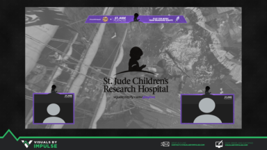 St. Jude Play LIVE Fundraising Overlays - Visuals by Impulse