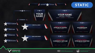 Streamer Vitals - Patriot - Visuals by Impulse