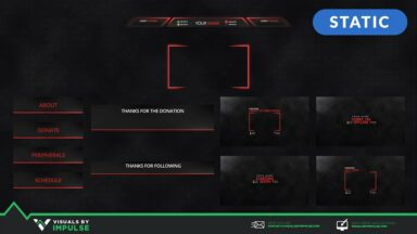 Streamer's Essential Kit - Visuals by Impulse