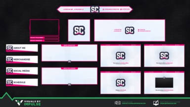 Streamers Connected Stream Kit - Visuals by Impulse