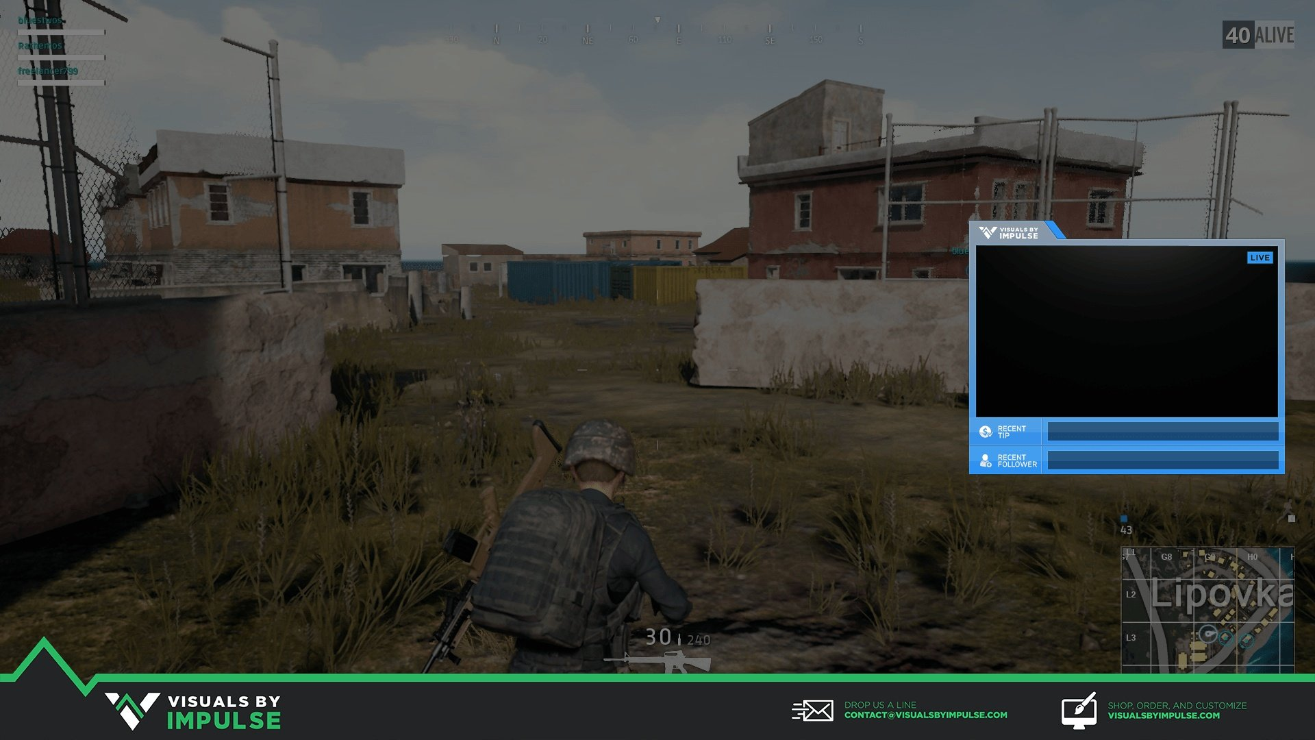 Supercharged Twitch Overlay - Visuals by Impulse
