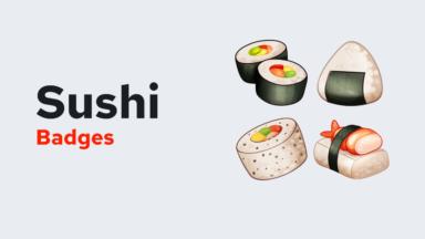 Badges Sushi