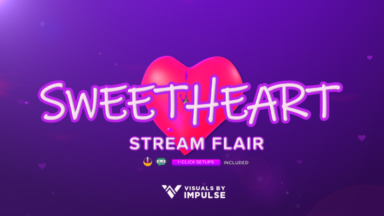Sweetheart Stream Flair - Visuals by Impulse