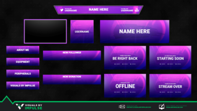 Symmetrical Stream Package - Visuals by Impulse