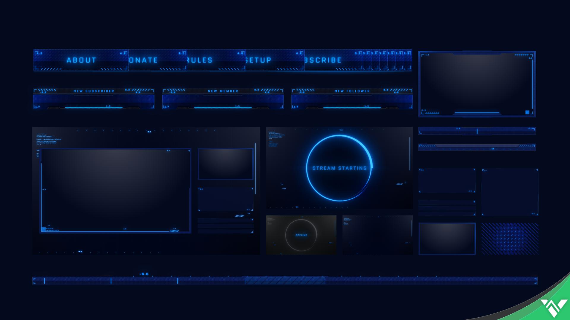 Talon II Stream Package - Visuals by Impulse
