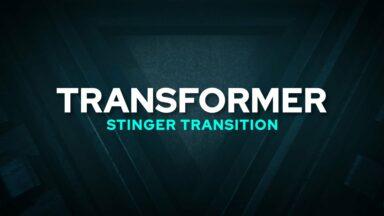 Transformer Stinger Transition Template