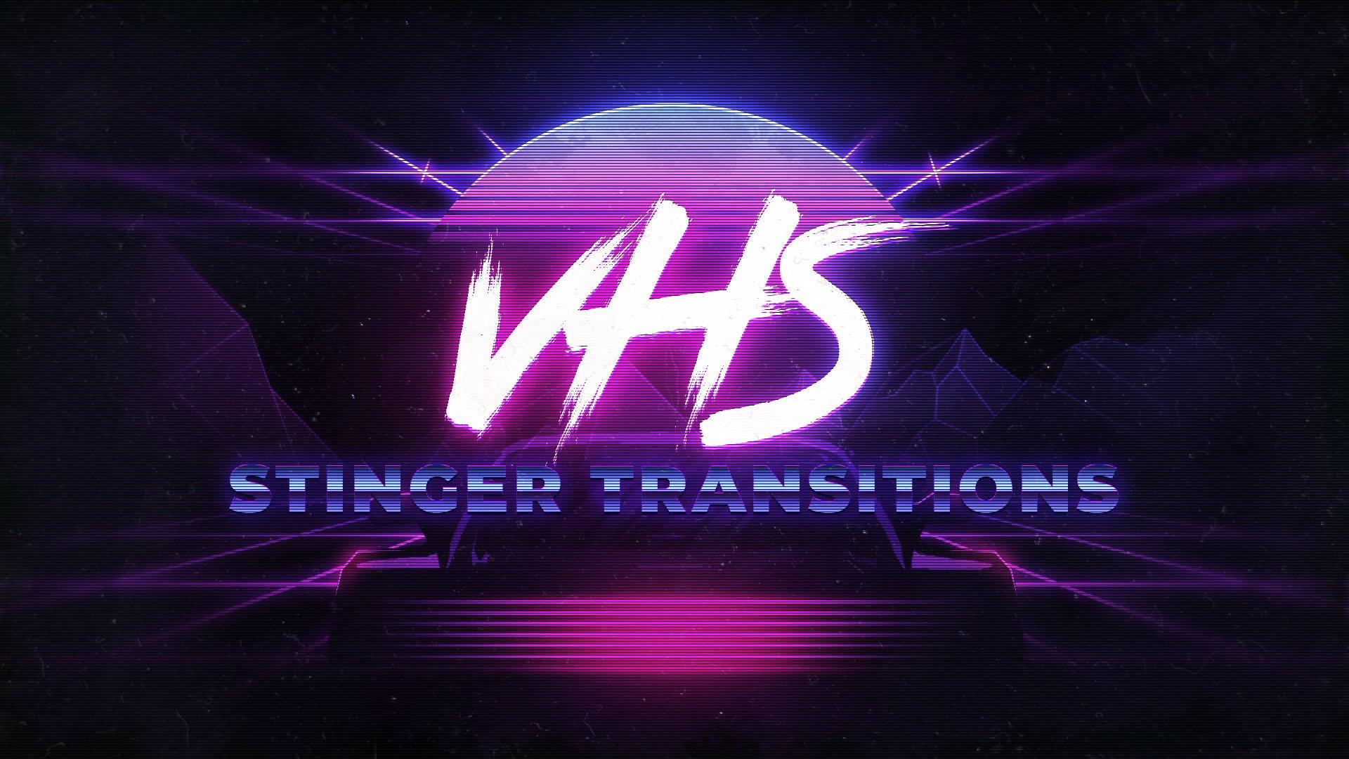 VHS Stinger Transition - Visuals by Impulse