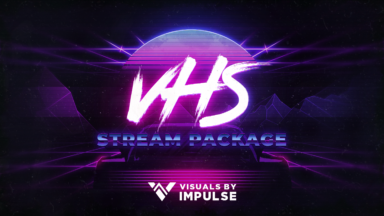 VHS Stream Package - Visuals by Impulse
