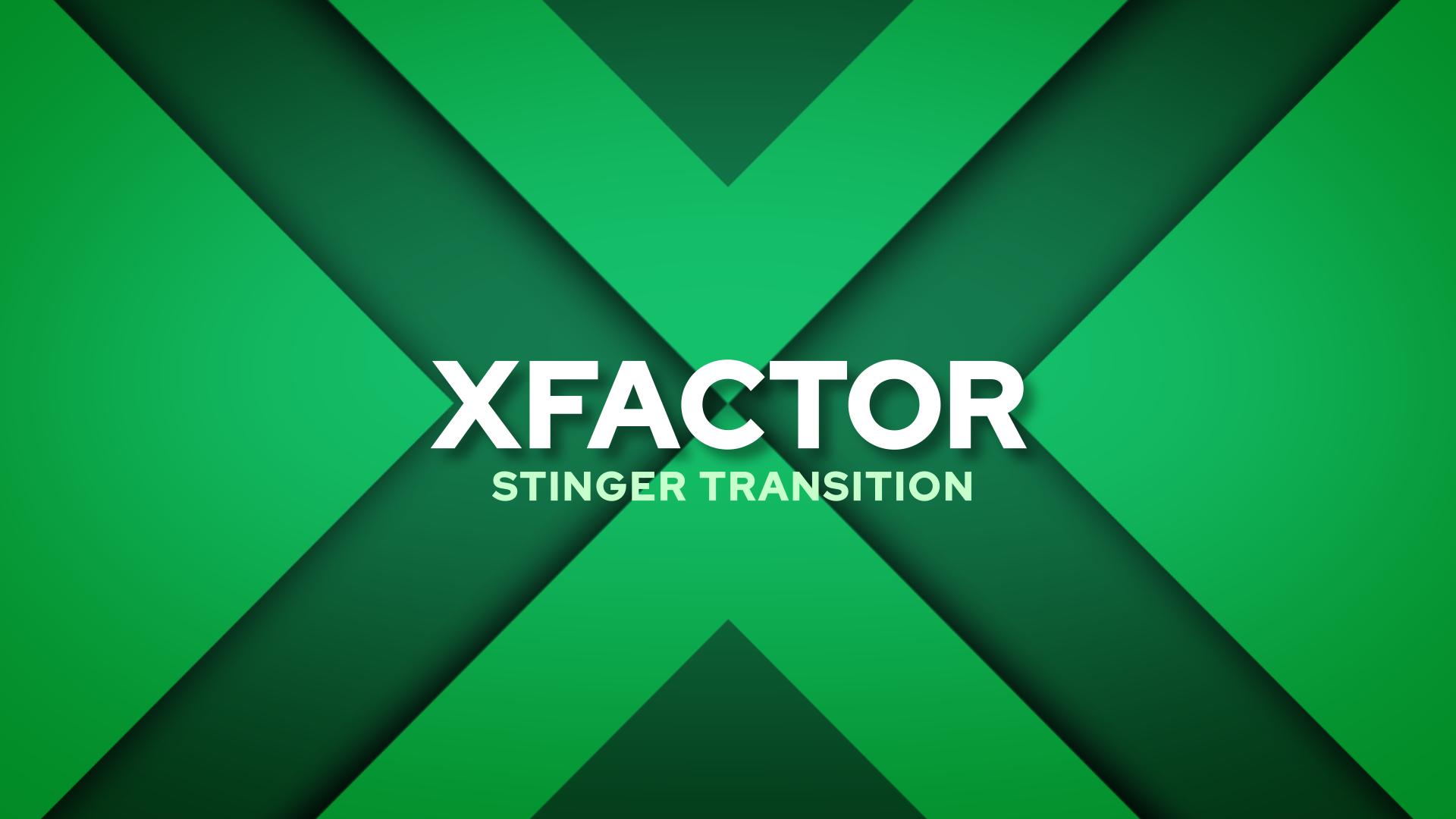 X Factor Stinger Transition