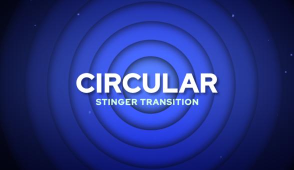 Circular Stinger Transition
