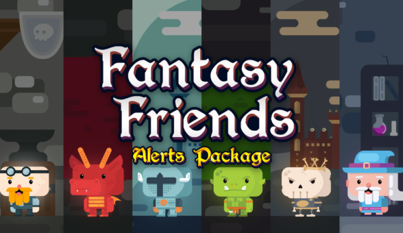 Fantasy Friends - Alerts Package