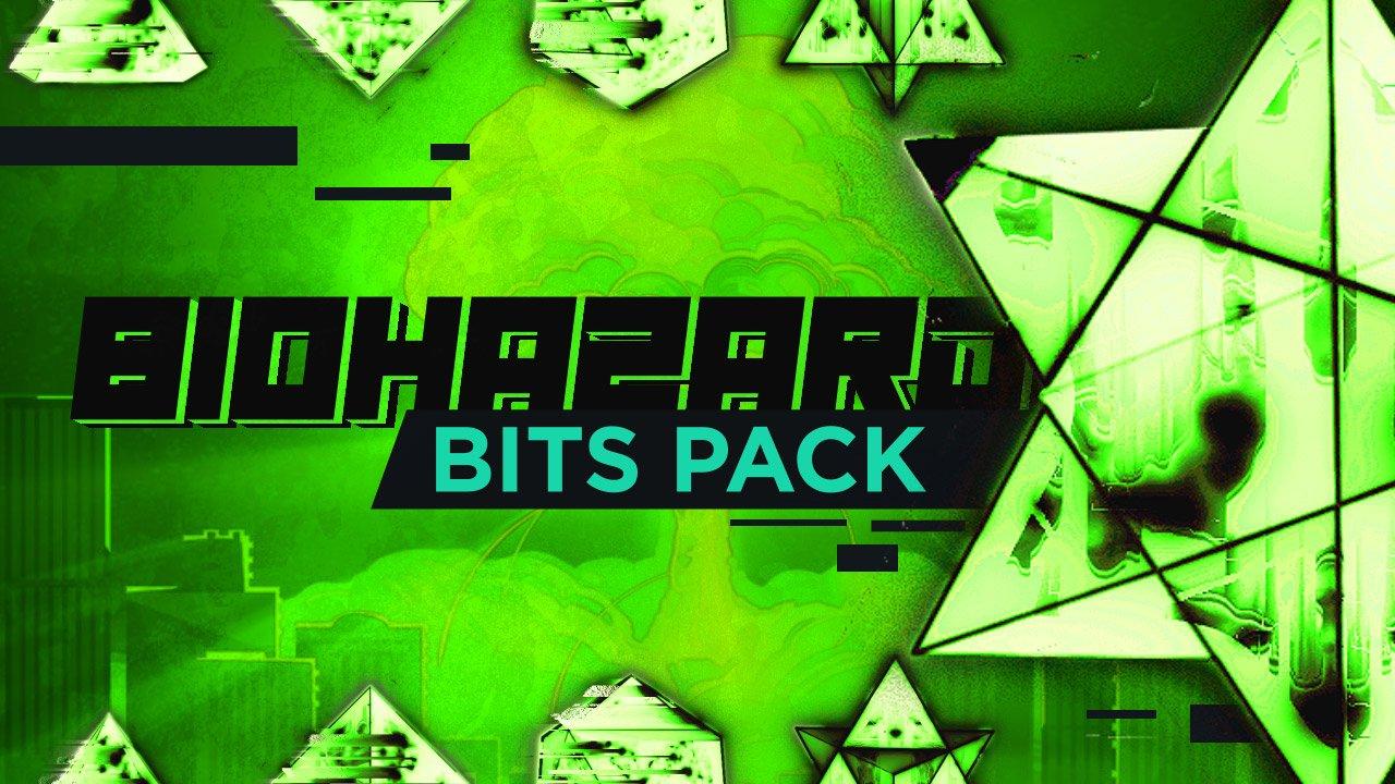 Biohazard Bits - Green