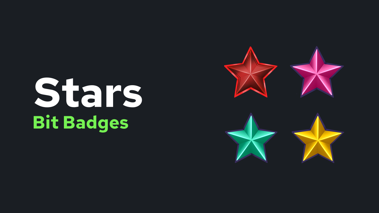 Stars Bit Badges