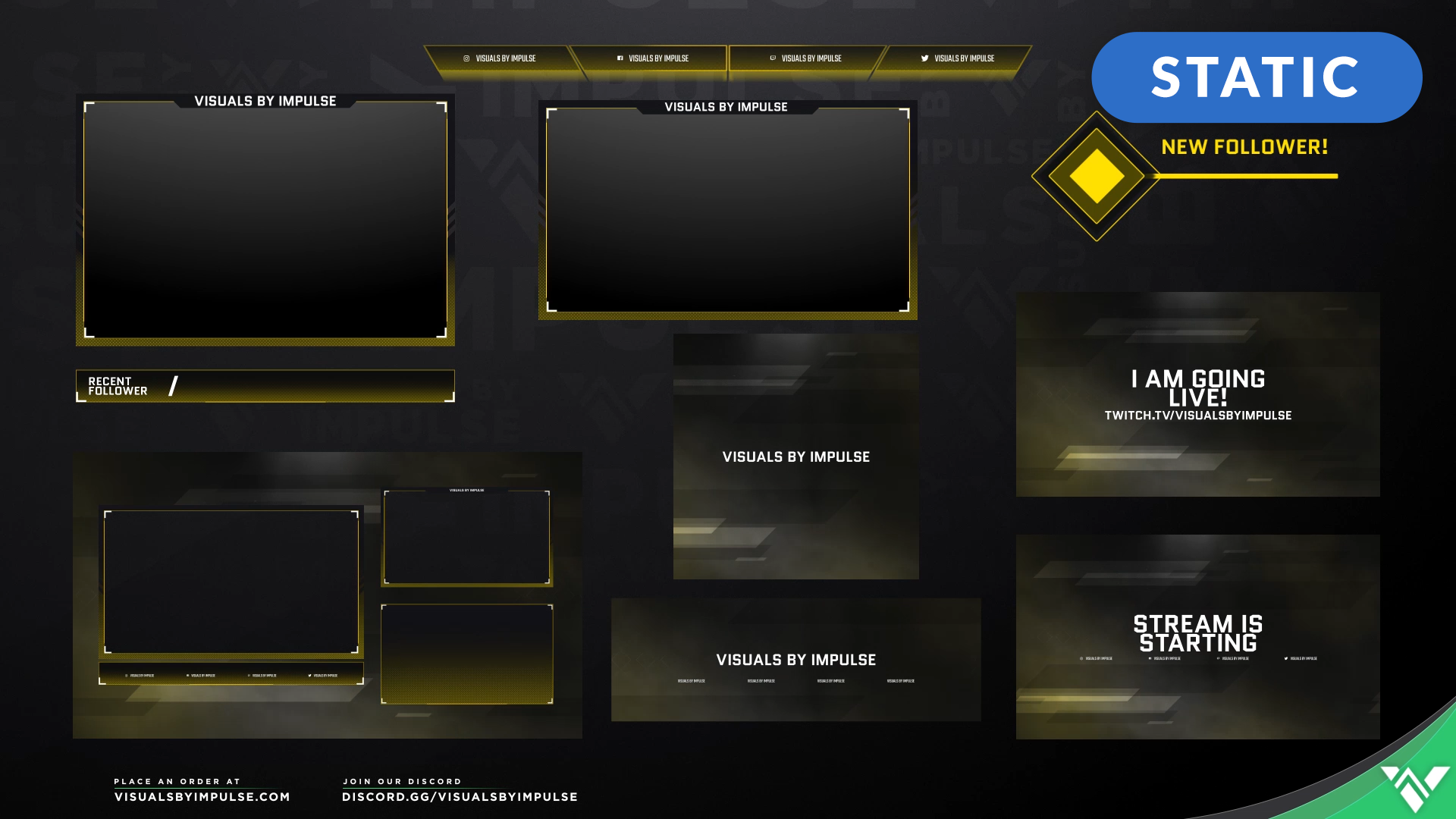 Champion Stream Package - Visuals by Impulse