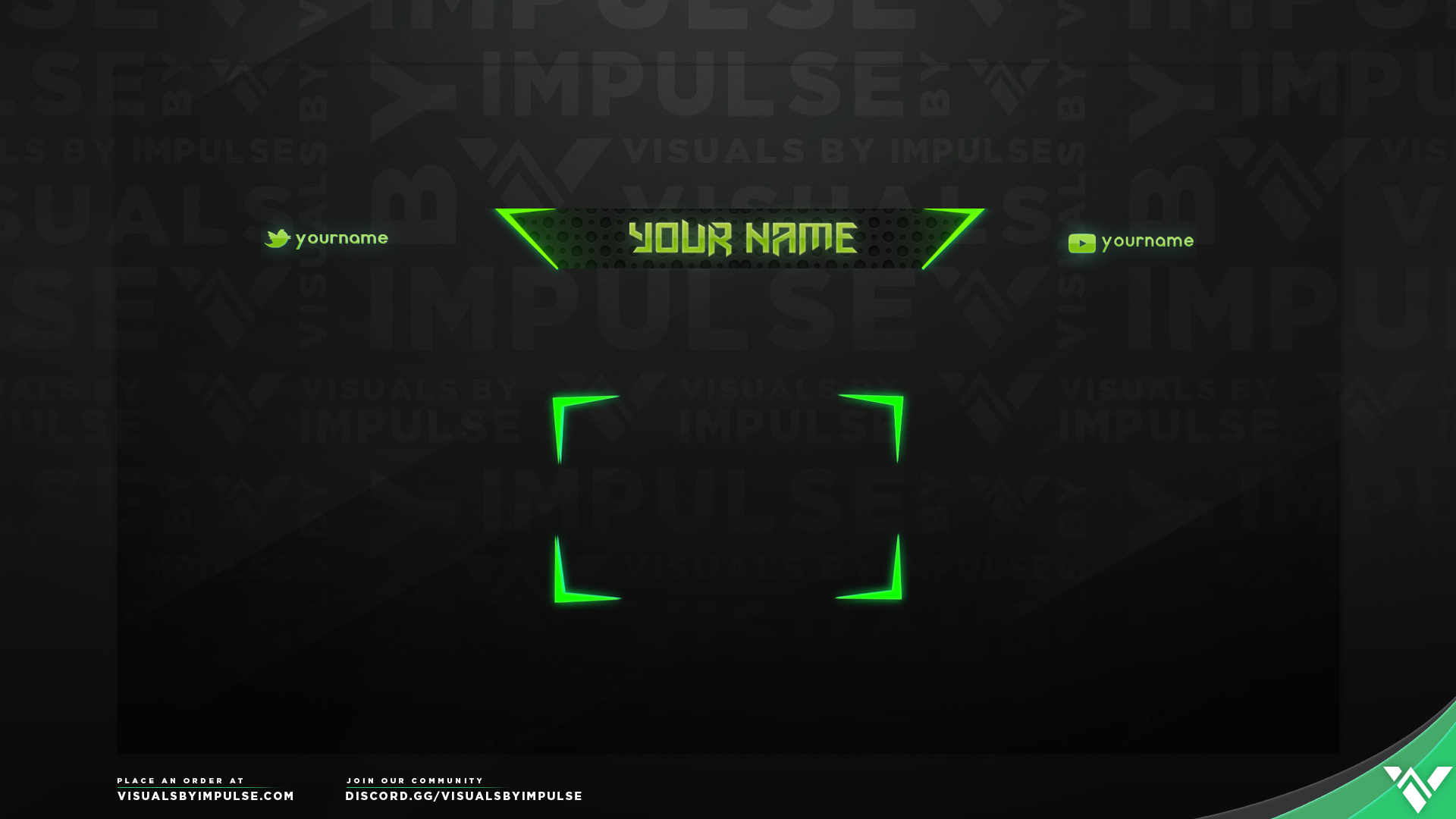 Chroma Twitch Overlay - Visuals by Impulse