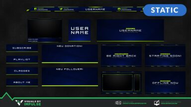 Creator Stream Package - Visuals by Impulse