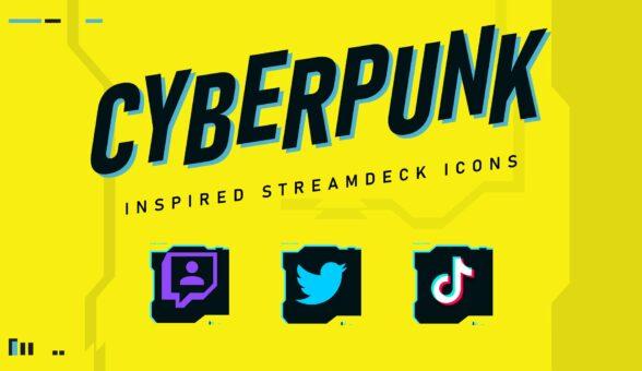 Cyberpunk 2077 Stream deck Icons