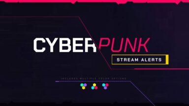 Cyberpunk Stream Alerts