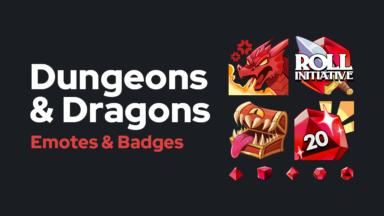 Dungeons & Dragons - Emotes & Badges