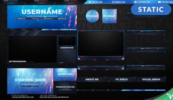 Firestorm Stream Package - Visuals by Impulse