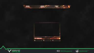 Forged Stream Overlay - Visuals by Impulse