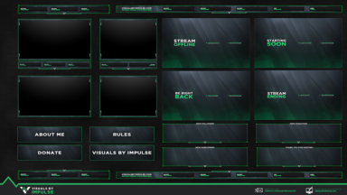 Free Animated Stream Package - Visuals by Impulse