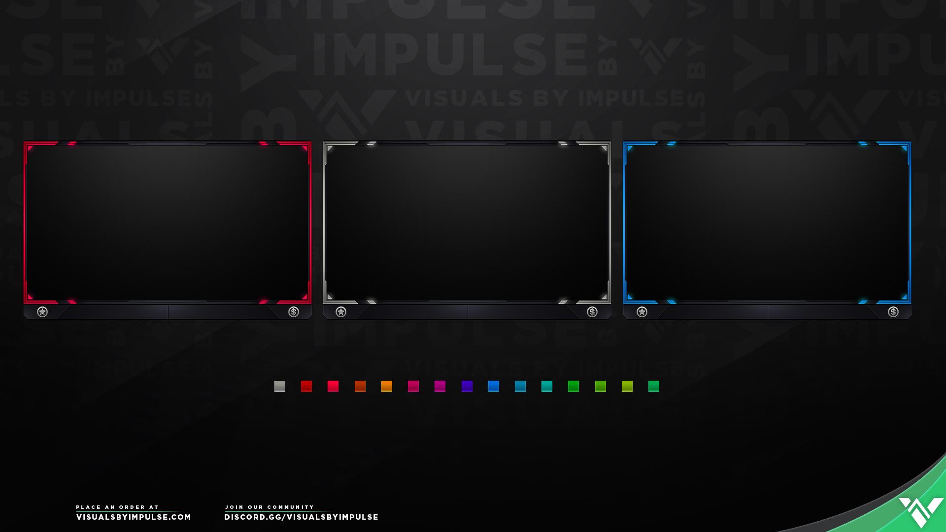 Free Champion Webcam Slot - Visuals by Impulse