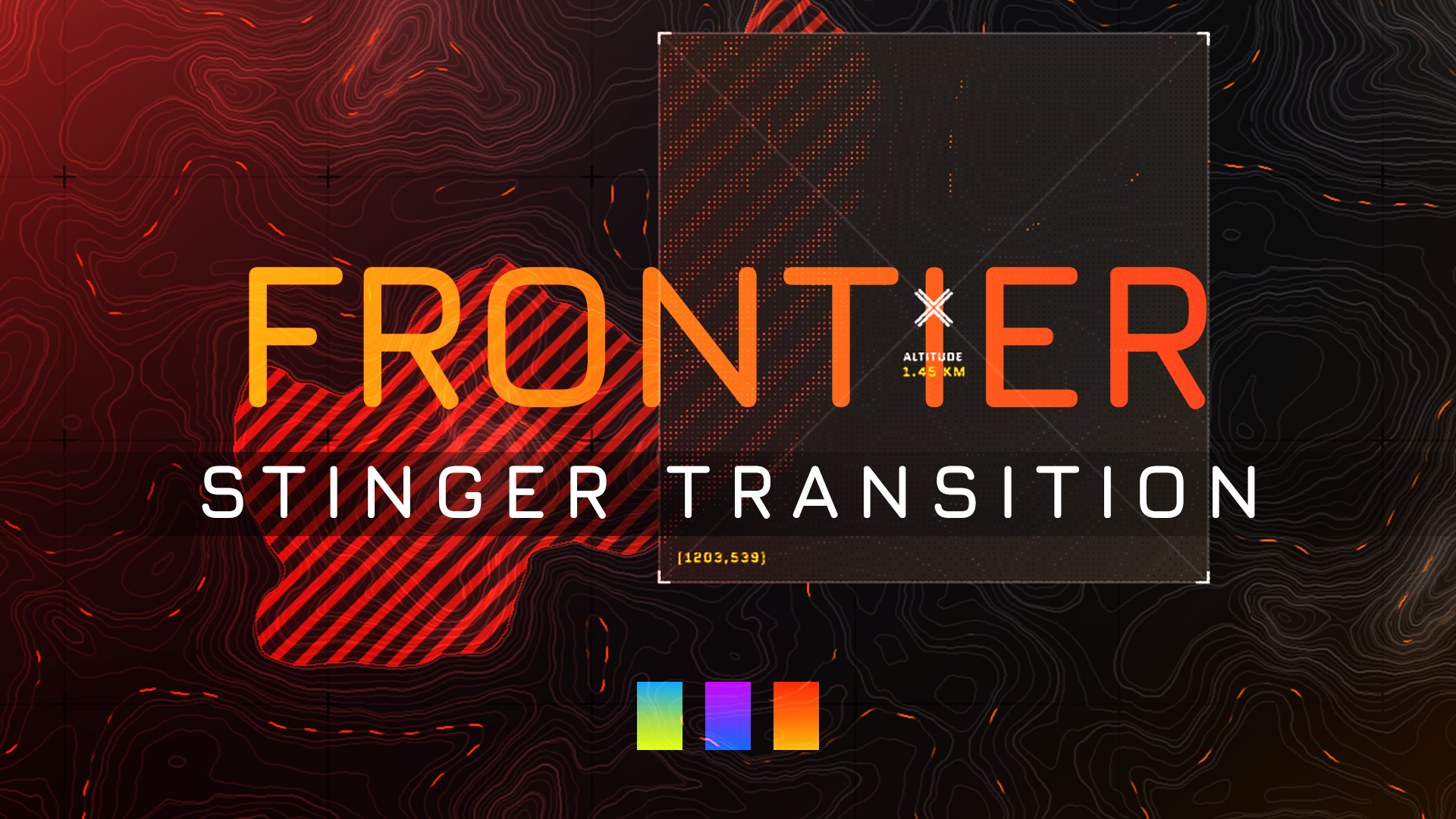 Frontier Stinger Transition - Visuals by Impulse