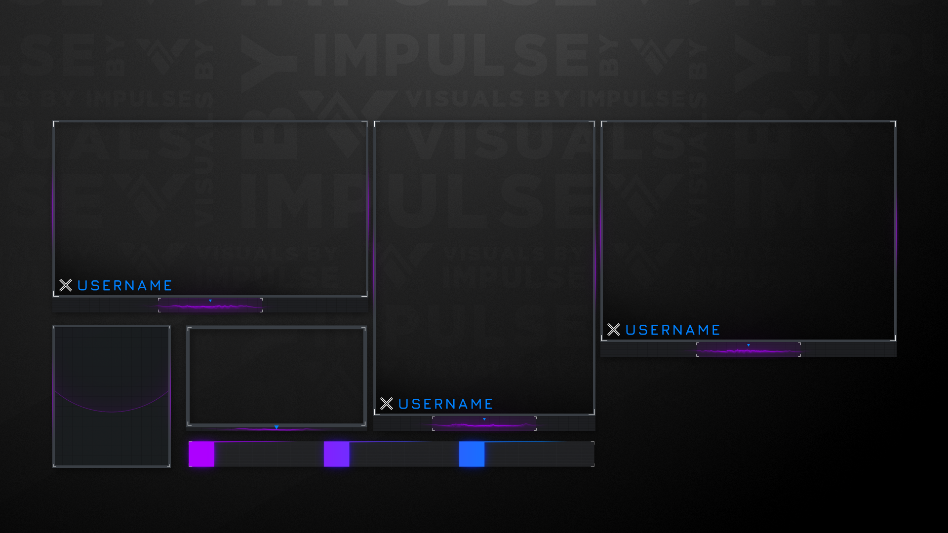 Frontier Stream Package - Visuals by Impulse