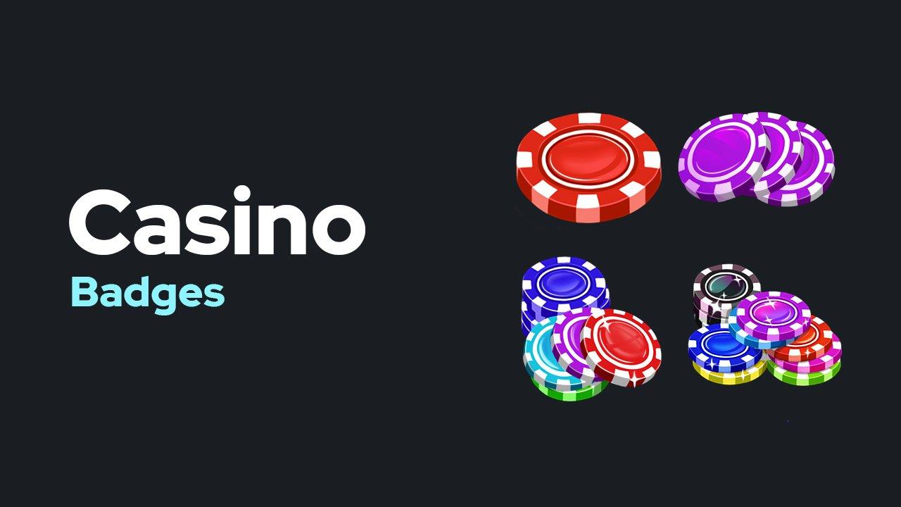Casino Badges