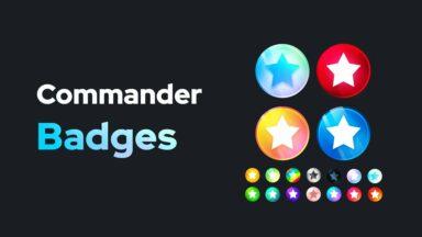Commander Badges