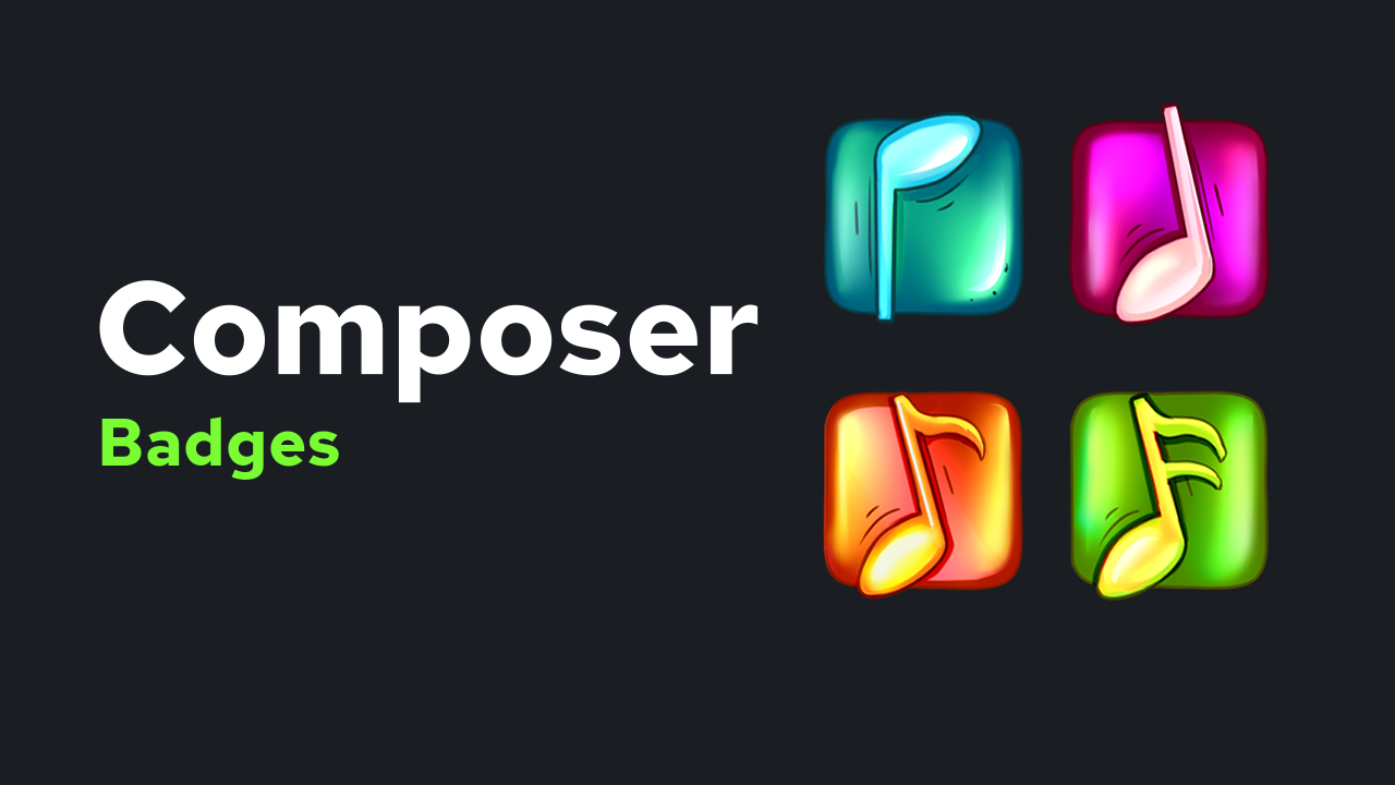 Music Composer Badges