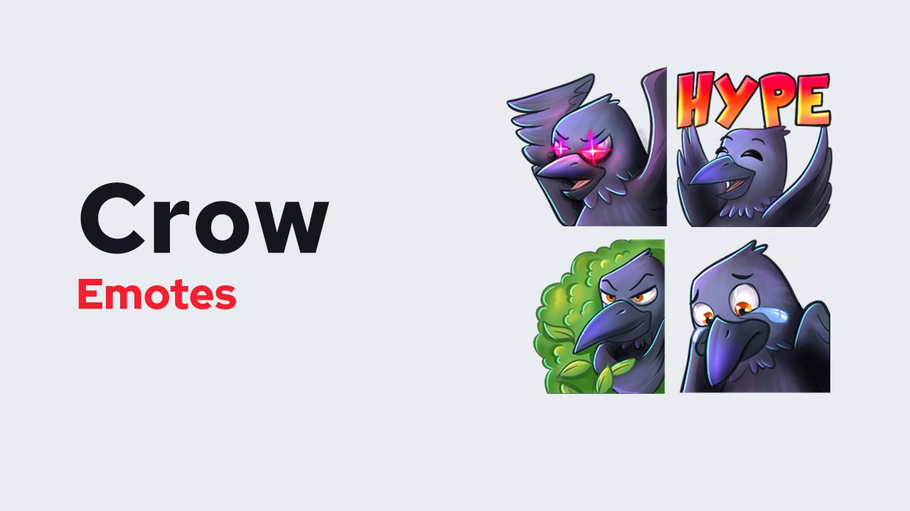 Crow Emotes