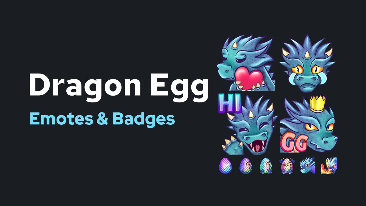 Dragon Emotes & Badges