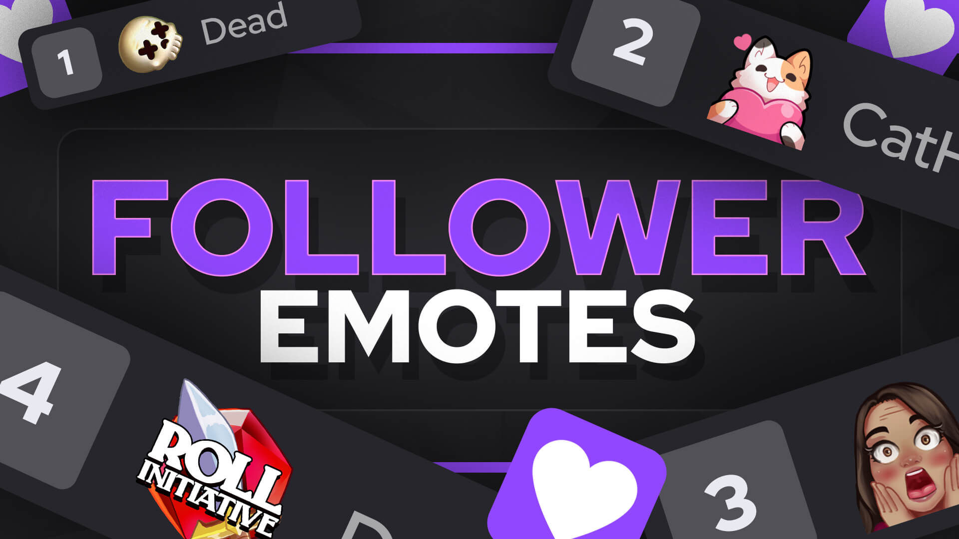 Twitch follower emotes guide
