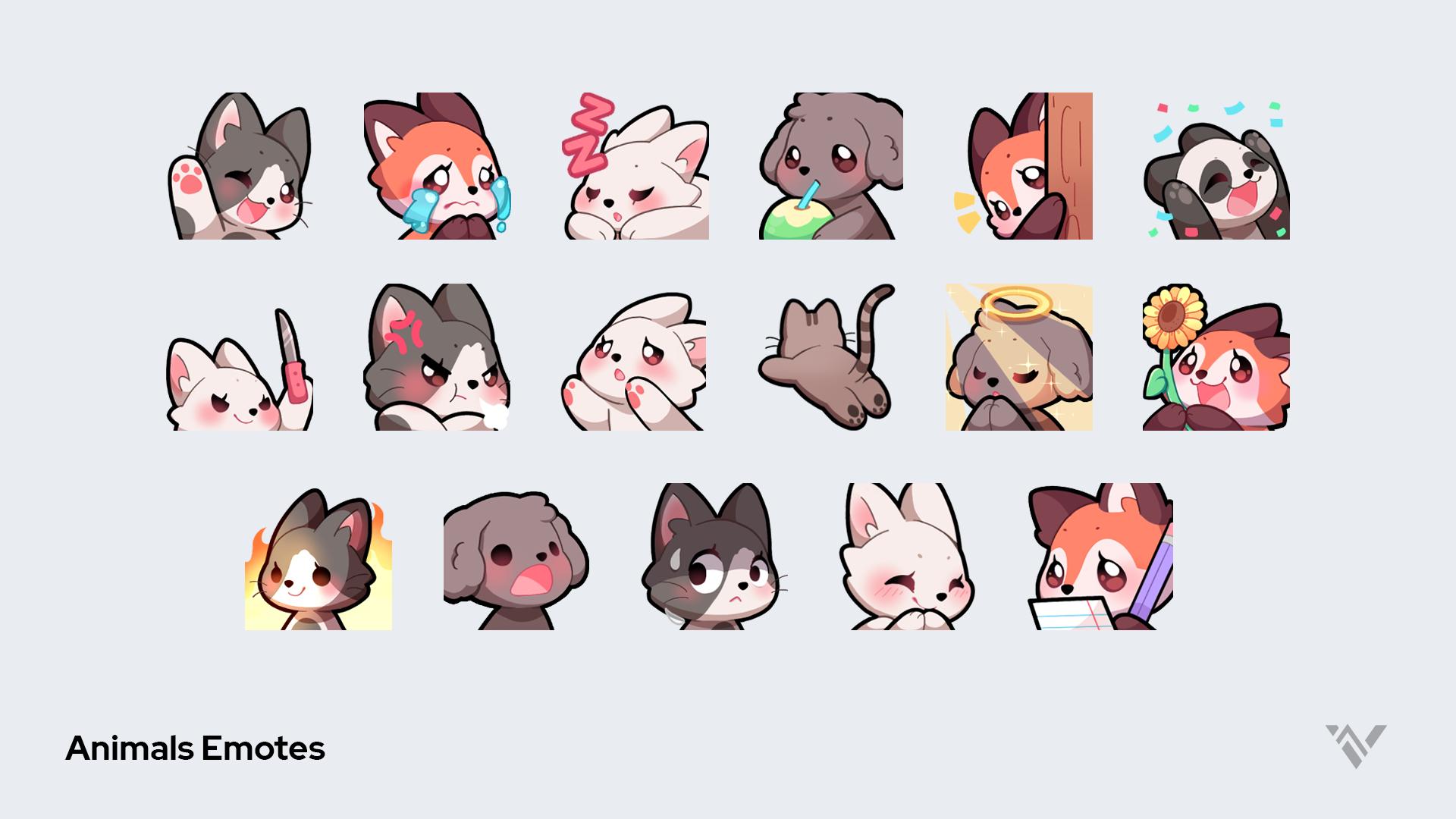 animals emotes