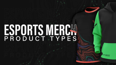 Esports Merch Product Types