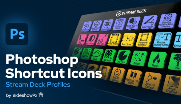 Photoshop Shortcut Icons for Stream Deck VBI Thumbnail