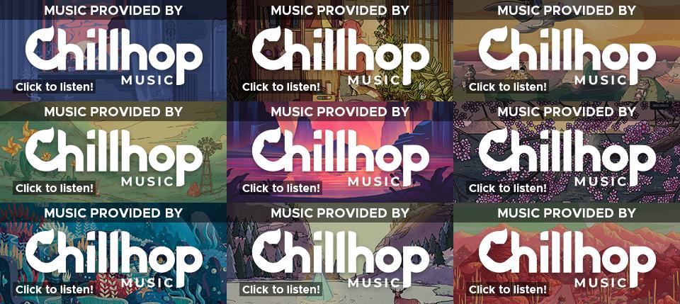chillhop music twitch panels