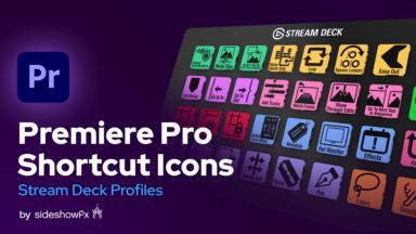 Premiere Shortcut Icons for Stream Deck VBI Thumbnail