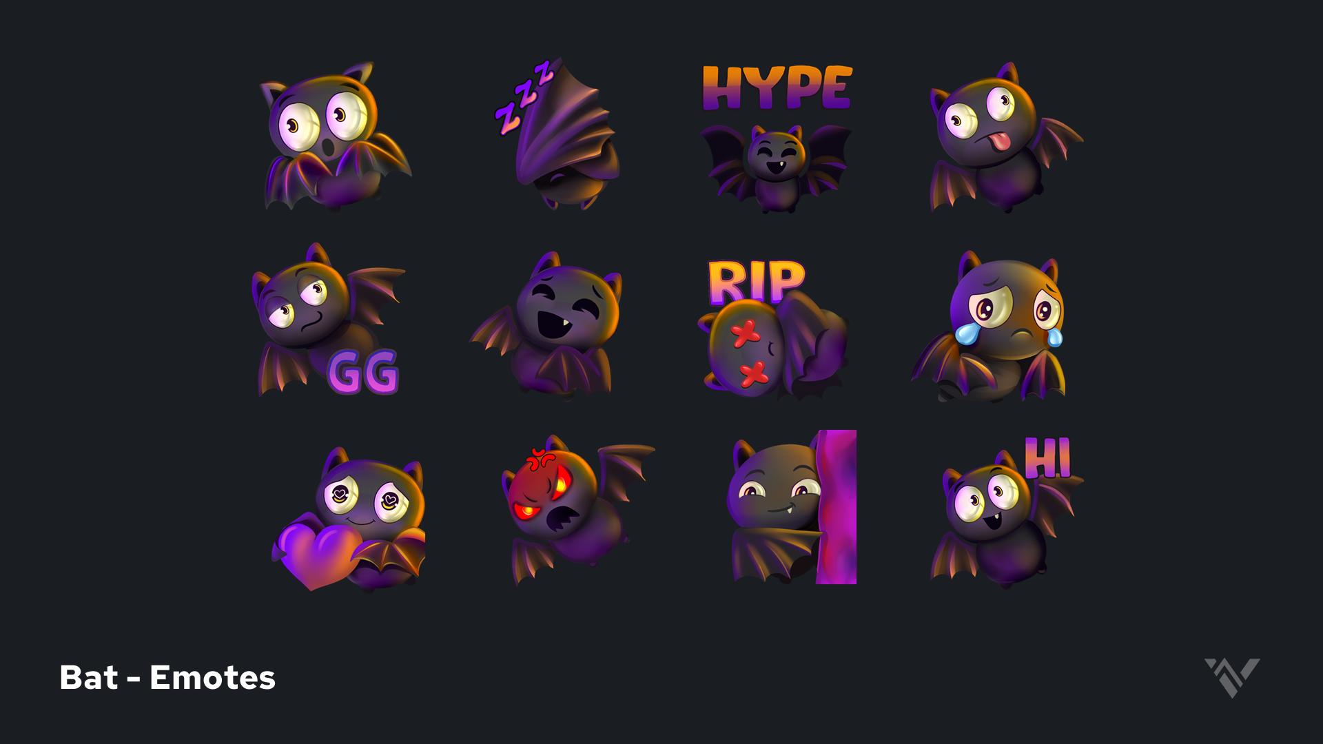 Bat Emotes Presentation