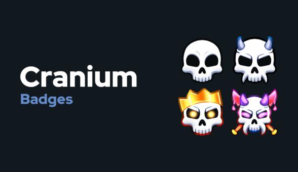 Cranium Badges Thumbnail