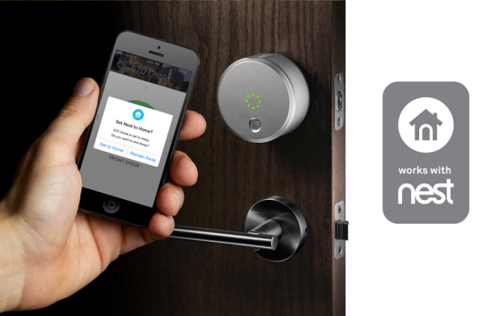 August Smart Lock now works with Nest