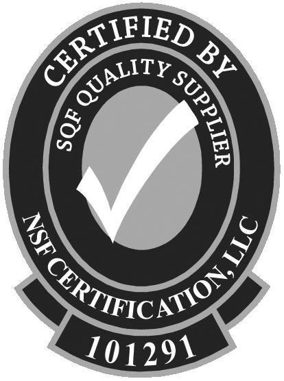 SQF Quality Supplier Cert
