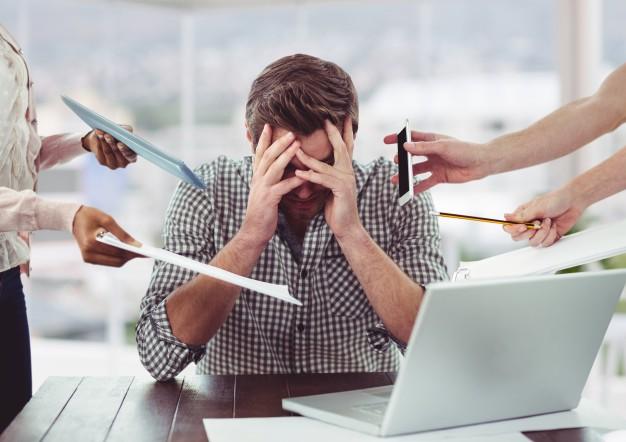 Estresse no trabalho: Aprenda as 5 melhores formas de evitar