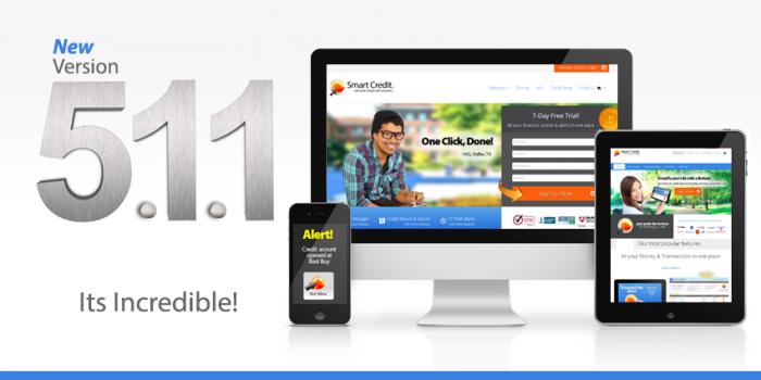 New SmartCredit.com ver 5.1.1 wows consumers!
