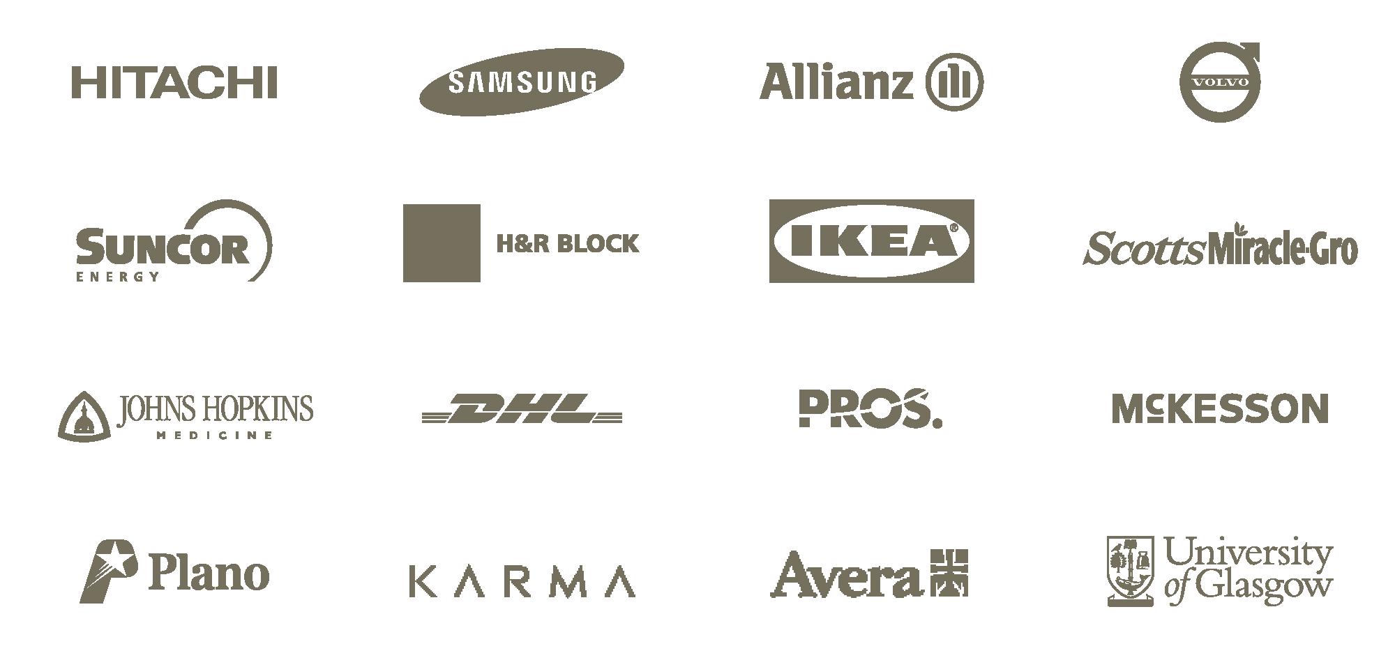 Bananatag customers logos