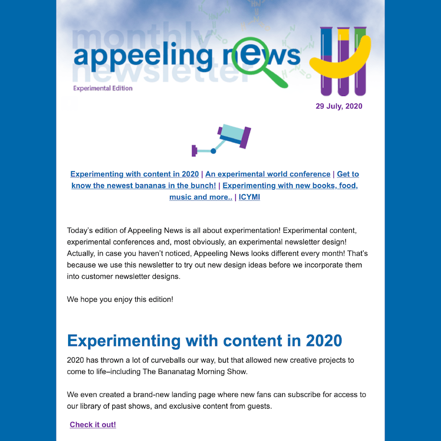 july 2020 newsletter preview